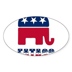 Presidential Election '08!! Sticker (Oval 10 pk)