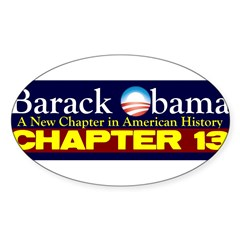 Chapter 13 Sticker (Oval 10 pk)
