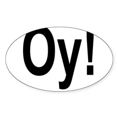 Oval Sticker (Oval 10 pk)