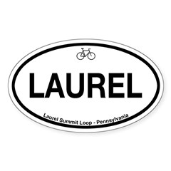 Laurel Summit Loop Sticker (Oval 10 pk)