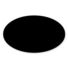 Gimp Jolly Roger Oval Sticker (Oval 10 pk)