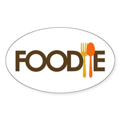 Foodie Sticker (Oval 10 pk)