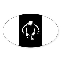 Bearman! Sticker (Oval 10 pk)