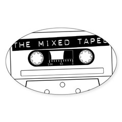 Tape Sticker (Oval 10 pk)