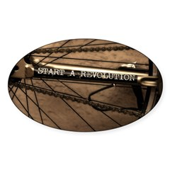 Revolution Sticker (Oval 10 pk)
