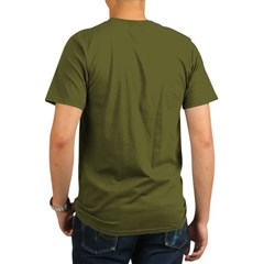 Stealth Fla Organic Men's T-Shirt (dark)