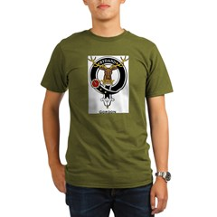 Gordon Clan Crest Badge Organic Men's T-Shirt (dark)