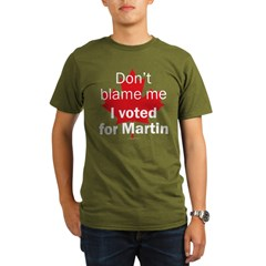 I voted for Martin Black Organic Men's T-Shirt (dark)