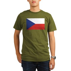 Czech Republic / Czech Flag Organic Men's T-Shirt (dark)