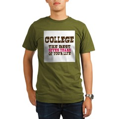 College Organic Men's T-Shirt (dark)