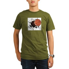 Basketball122 Organic Men's T-Shirt (dark)