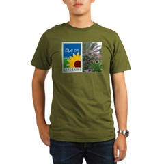 Eye on Gardening Tropical Plants Organic Men's T-Shirt (dark)