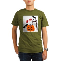 Halloween.jpg Organic Men's T-Shirt (dark)