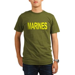 MARINES Organic Men's T-Shirt (dark)