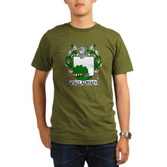 Callaghan Coat of Arms Organic Men's T-Shirt (dark)