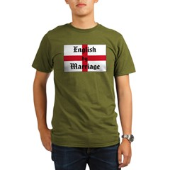 English by Marriage Organic Men's T-Shirt (dark)
