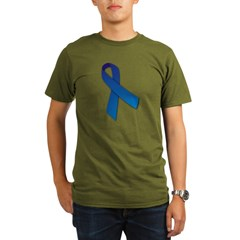 Blue Ribbon Organic Men's T-Shirt (dark)