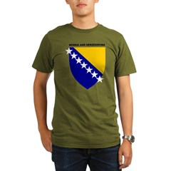 Bosnia_and_Herzegovina Organic Men's T-Shirt (dark)