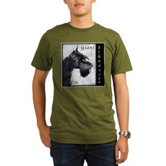 Giant Schnauzer Organic Men's T-Shirt (dark)