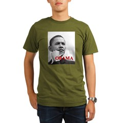 President Obama Organic Men's T-Shirt (dark)