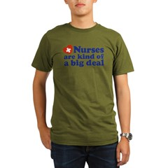 Cute Nurse Organic Men's T-Shirt (dark)