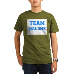 TEAM MALONE Organic Men's T-Shirt (dark)