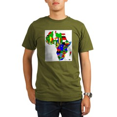 Africa Organic Men's T-Shirt (dark)