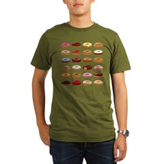 Donut Lo Organic Men's T-Shirt (dark)