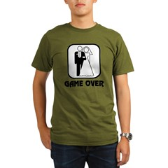 Wedding Symbol: Game Over Organic Men's T-Shirt (dark)
