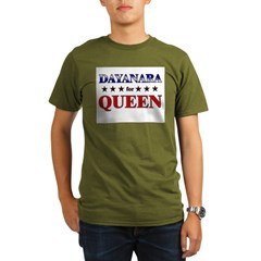 DAYANARA for queen Organic Men's T-Shirt (dark)
