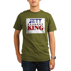 JETT for king Organic Men's T-Shirt (dark)