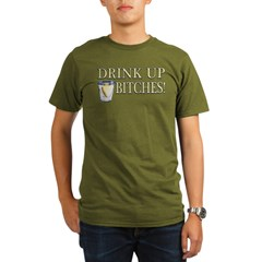Cinco De Mayo - Drink Up Bitches! Organic Men's T-Shirt (dark)