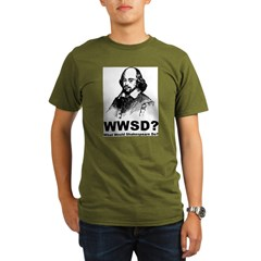 What Would Shakespeare Do Organic Men's T-Shirt (dark)