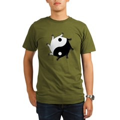 Yin Yang Organic Men's T-Shirt (dark)