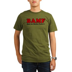 BAMF Organic Men's T-Shirt (dark)