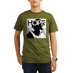 HOPE Obama Organic Men's T-Shirt (dark)
