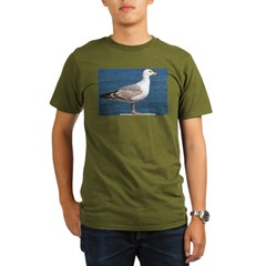 Seagull Photo Organic Men's T-Shirt (dark)