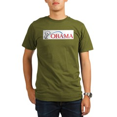 Piss on Obama Organic Men's T-Shirt (dark)
