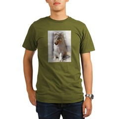 RoughCollie00002.jpg Organic Men's T-Shirt (dark)
