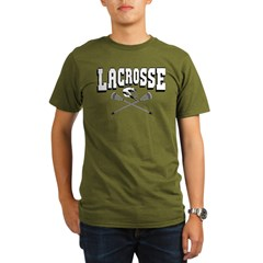 Lacrosse Arc Organic Men's T-Shirt (dark)