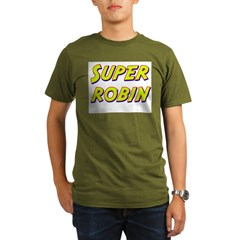 Super robin Organic Men's T-Shirt (dark)