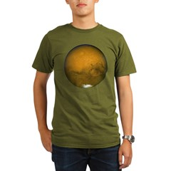 Mars Organic Men's T-Shirt (dark)