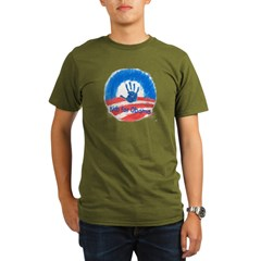 Kids for Obama Organic Men's T-Shirt (dark)