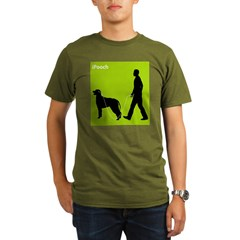 Irish Wolfhound Organic Men's T-Shirt (dark)