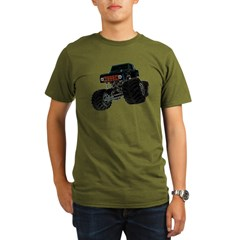 Monster Crawler II Organic Men's T-Shirt (dark)