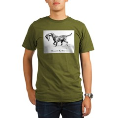 Chesapeake Bay Retriever Organic Men's T-Shirt (dark)