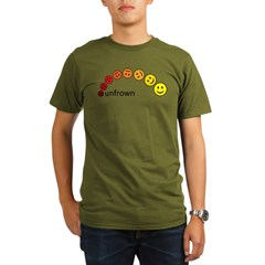 unfrown Organic Men's T-Shirt (dark)