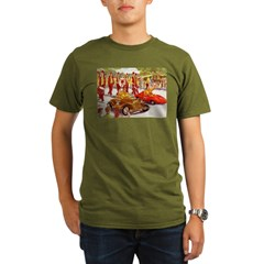 Shriner Mini Cars Organic Men's T-Shirt (dark)