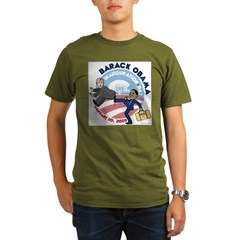 Obama Inaguration Final1.jpg Organic Men's T-Shirt (dark)
