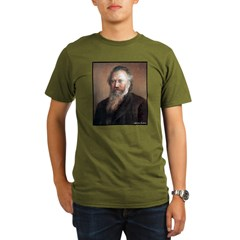 "Faces ""Brahms"" Organic Men's T-Shirt (dark)"